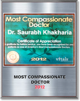 Most Compassionate Doctor 2012